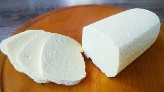 Домашний Сыр Без Соды за 15 минут из 3 ингредиентов
