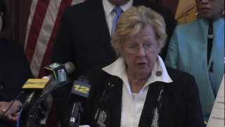 Senate Majority Leader Loretta Weinberg on Governor