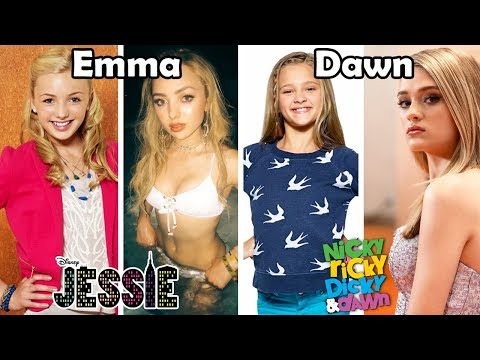 Disney and Nickelodeon Famous Girls Stars Before and After 2018 (Then and Now)