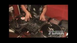 Flava Live Session - Scratch Session - DJ Zeke