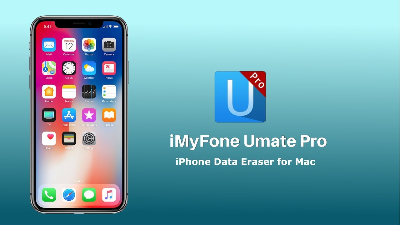 iMyFone Umate Pro iPhone Data Eraser for Mac - YouTube
