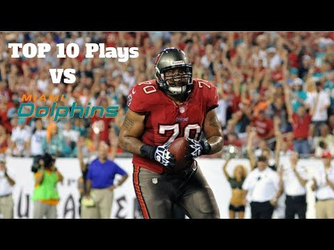 Tampa Bay Buccaneers Top 10 Plays vs. the Miami Dolphins