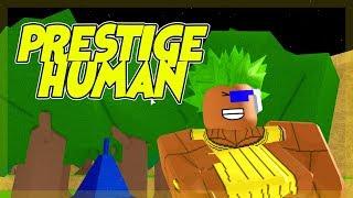 Endlich Prestige mein menschlicher Gott | Dragon Ball Z Endstand | Roblox | iBeMaine