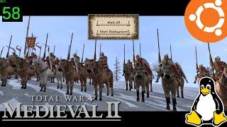 Medieval 2 Total War Gameplay on Ubuntu Linux (Native)