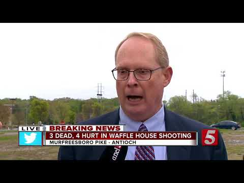 4 killed at Waffle House in Te waffle house