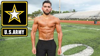 Natural Bodybuilder Tries The US Army Combat Fitness Test Without Practice