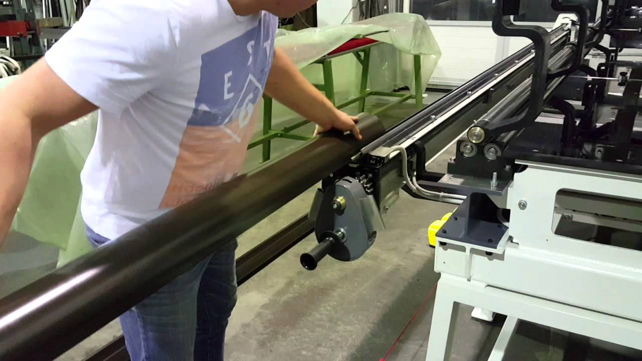 SL-3-W machine rolling , bead making all dimensions half round gutters ,  downspouts