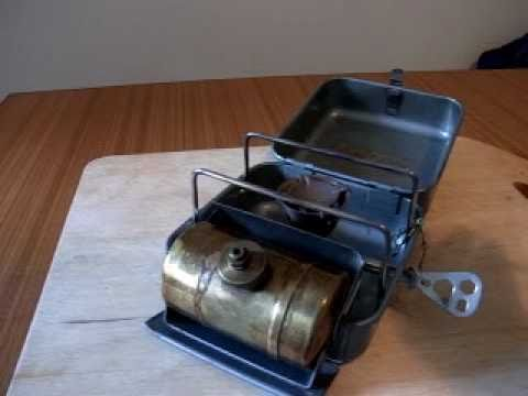 Vintage Optimus 8r Hunter Camping Stove Youtube