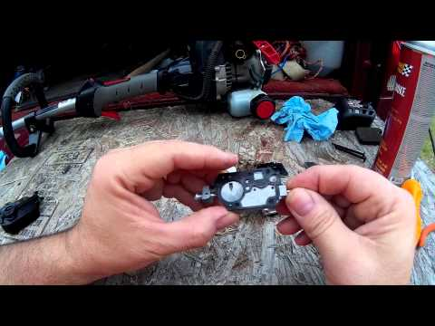 TroyBilt XP String Trimmer ZAMA C1U Carburetor Cleaning - Quick and Easy