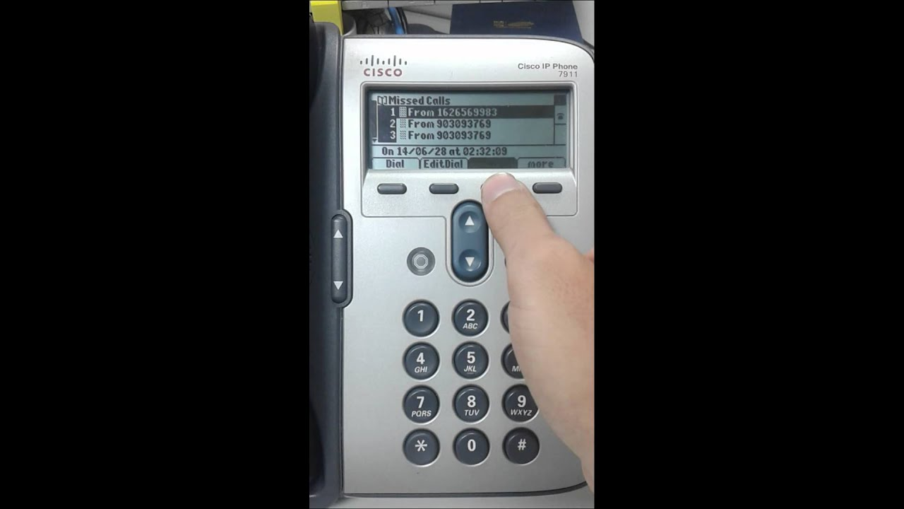 ip phone 7911 youtube rh youtube com Cisco 7962 Cisco 7942
