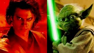 What If Yoda Confronted Darth Vader on Mustafar?