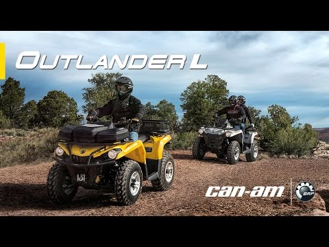 The All-New Can-Am Outlander L - TV Commercial