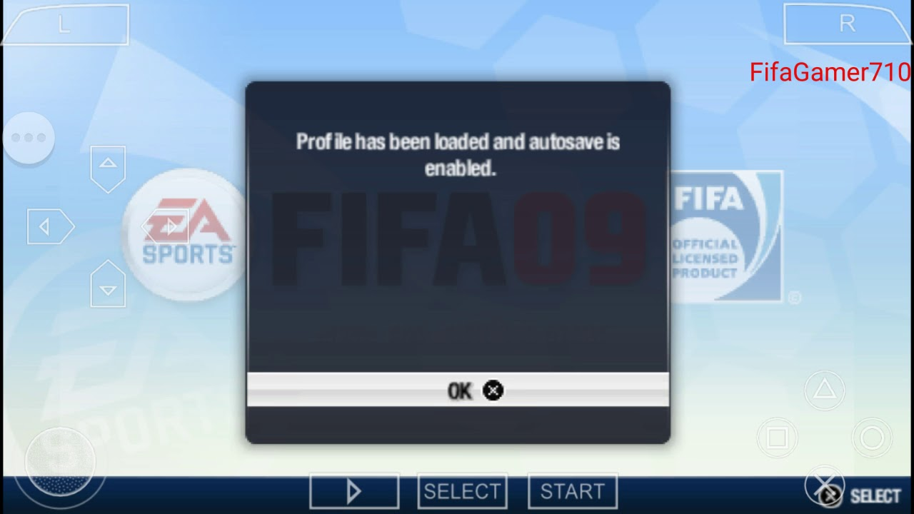 9685b1d32 Fifa 09 PSP emulator Manager Career Mode Roma - YouTube