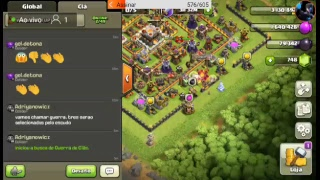 Live on clash of clans..