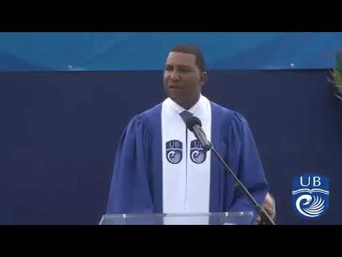 Fred Perpall keynote at the University of the Bahamas Commencement 2018