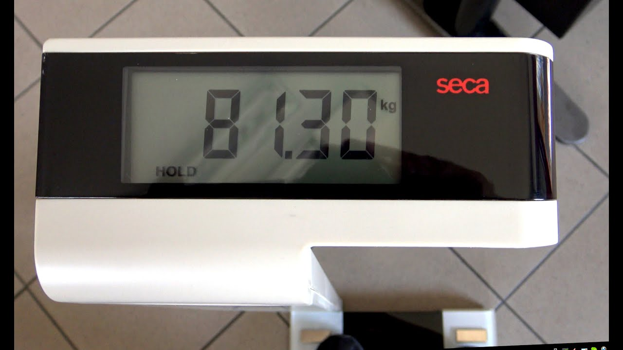 DIGITAL BATHROOM SCALE SECA 719 Precision For Health (VIDEO 4K)