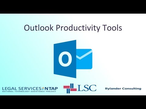 Outlook - Productivity Tools - YouTube