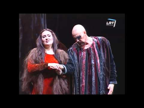 """Nomeda Kazlaus and Anders Lorentzson: Brunnhilde and Wotan duet from """"Walkure"""" by R.Wagner (Live)"""