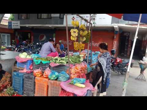 Fresh vagtable & Fish sport in Nepal