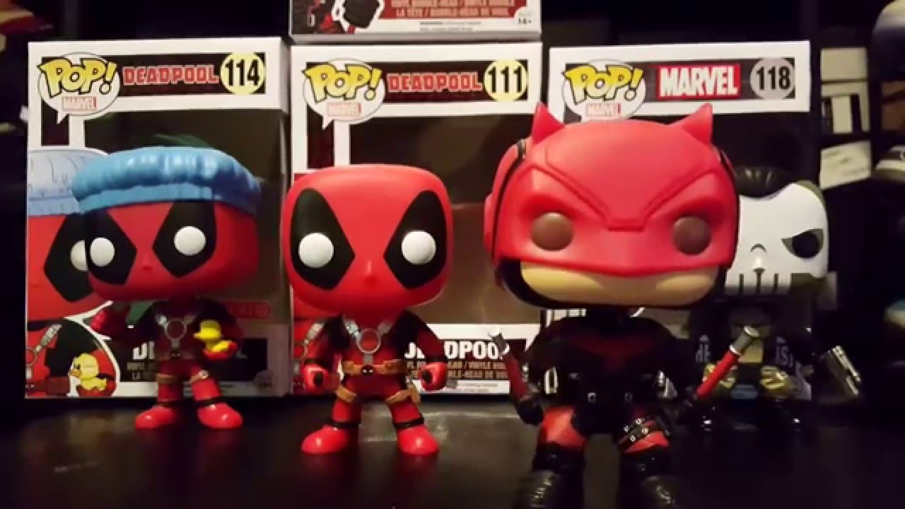 Funko Pop Deadpool Exclusive Daredevil Punisher Youtube