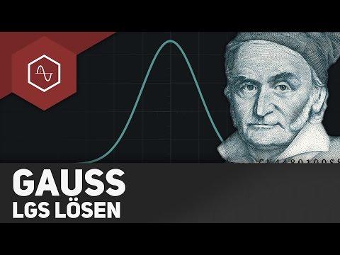 Gauß-Algorithmus / Lineare Gleichungssysteme lösen ● Gehe auf SIMPLECLUB.DE/GO
