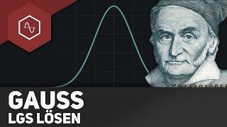 Gauß-Algorithmus / Lineare Gleichungssysteme lösen
