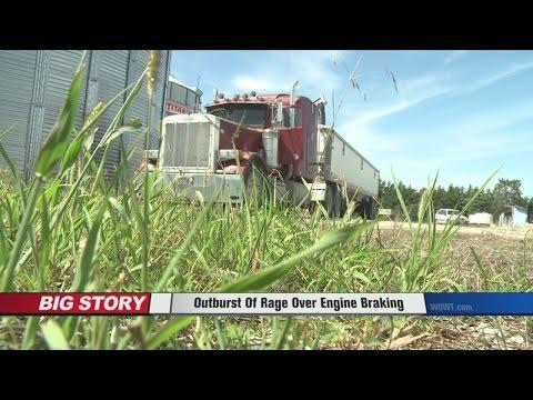 Road Rage Outburst Over Engine Braking