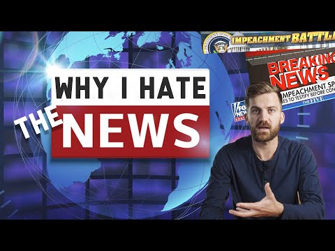 I'm a Journalist Who Hates The News