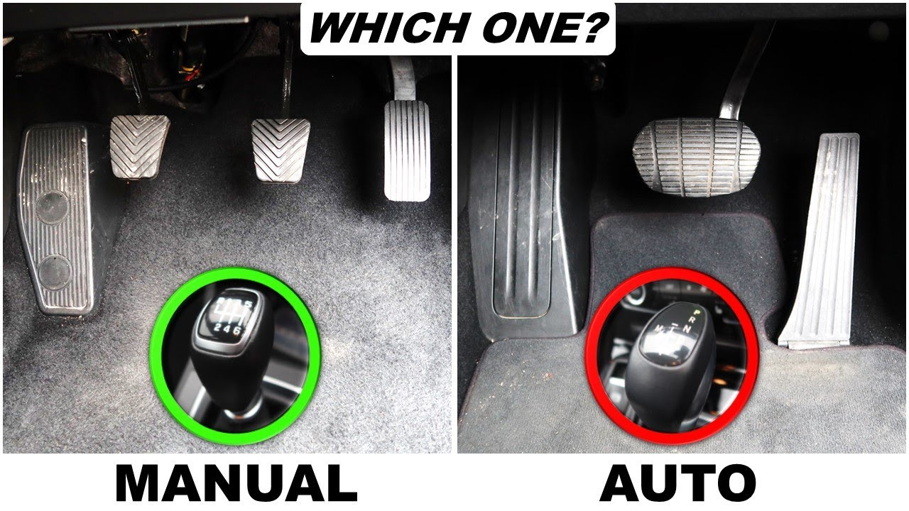 The Difference Between Manual & Automatic Cars