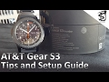 AT&T Gear S3 frontier NumberSync, Setup and Guide