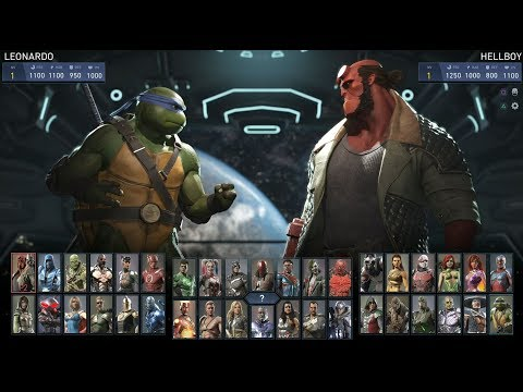 Injustice 2 - All the special attacks of the characters + DLC (1080p 60fps)