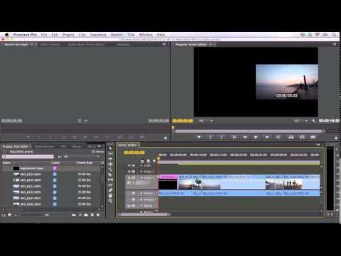 Premiere Pro Eğitimi 39 - Ayarlama Katmanı