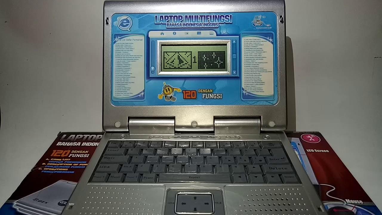 Mainan Laptop Multifungsi 120 Fungsi Paling Laku Rp 160 000 Youtube