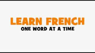 LEARN 1 FRENCH WORD = speed dating n