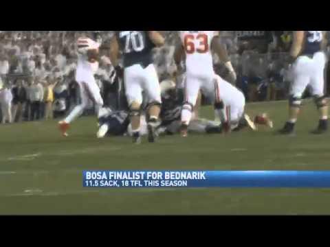 Bosa Named Bednarik Finalist