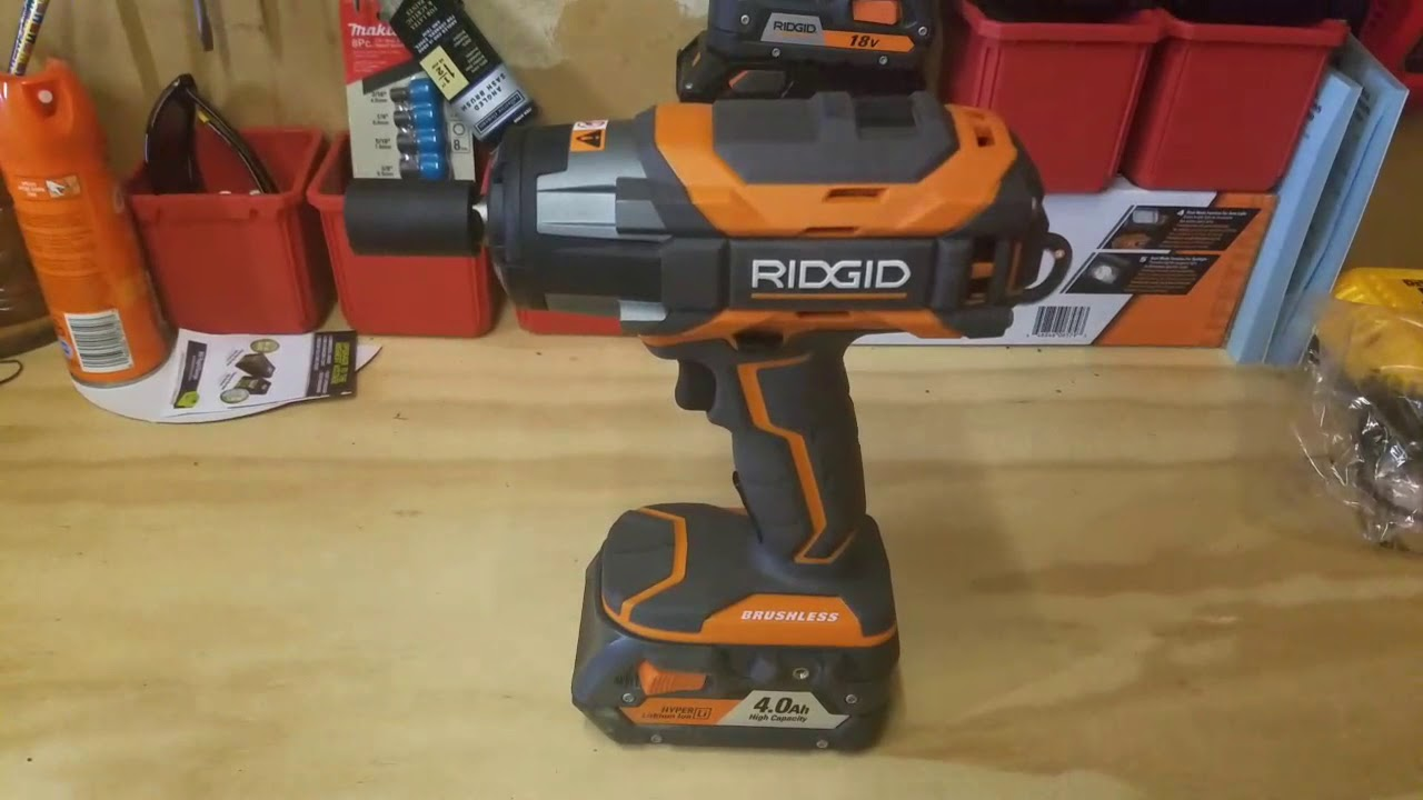 Ridgid Gen5x Brushless ½ In Impact Wrench Review R86011