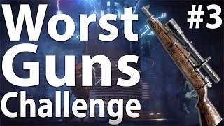 FINALE - Black Ops 3 Zombies: WORST GUNS CHALLENGE (Part 3) - The Giant
