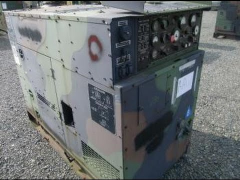 2001 Fermont Co MEP-804A 15kw Diesel Generator on GovLiquidation com