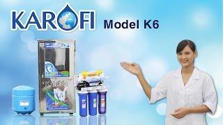 [ENTERBUY] Máy lọc nước RO Karofi K6  - Màng RO nhập khẩu Mỹ