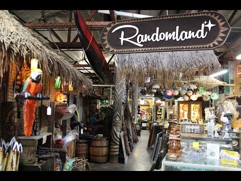 Real-life Tiki Room - The wonders and history of Oceanic Arts, Polynesian Art Kings - Randomland