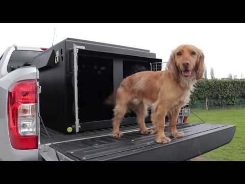 DT Boxes Dog Crate For Pickup Truck Bed
