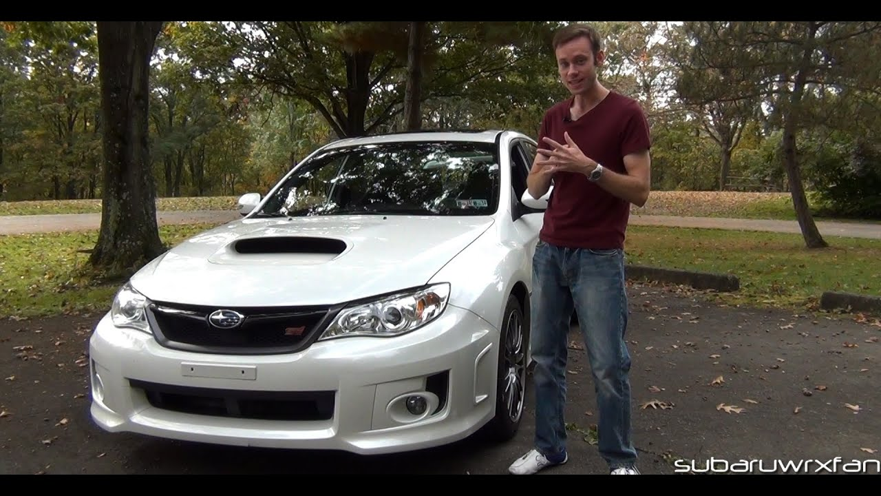 South Park Mitsubishi >> Review: 2012 Subaru WRX STI Limited - YouTube