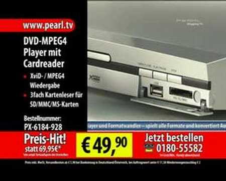 DVD-MPEG4-Player 'DVD-2023' Cardreader, USB-Port,MP3-Convert