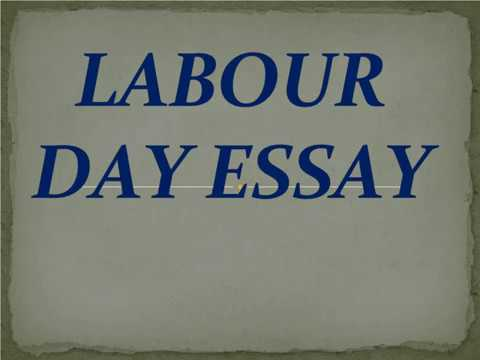 essay on labor day