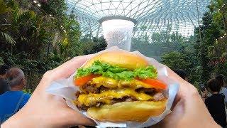First Shake Shack in Singapore