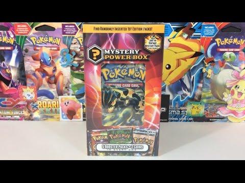 Pokemon Cards - New Mystery Power Box Opening! (VS Leonhart)