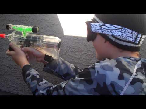 Backyard Airsoft Gun War 1