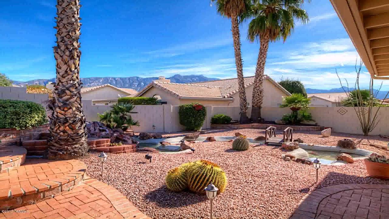 Arizona Backyard Landscape Design Ideas - YouTube