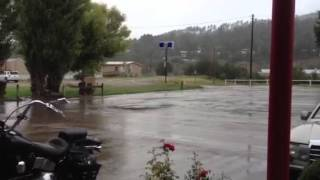 Rainy Ruidoso, New Mexico