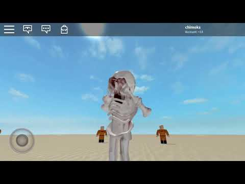 I'M SCP-096! ROBLOX Play As SCP Shy Guy